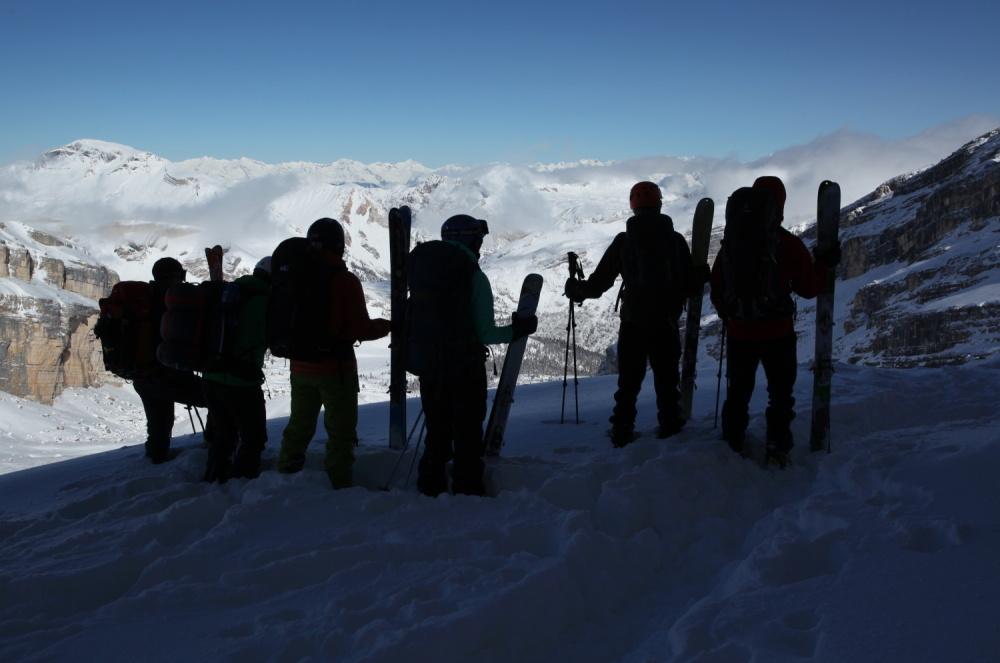 skialp teambuilding
